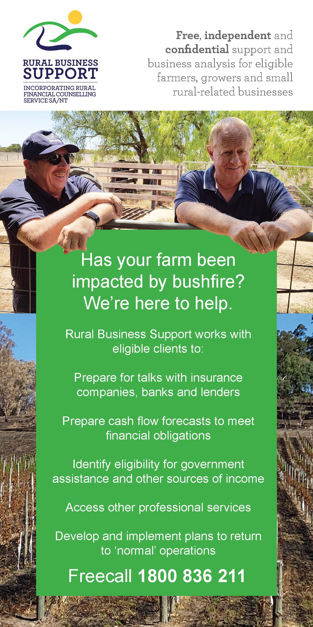 Rural Business Support page 1