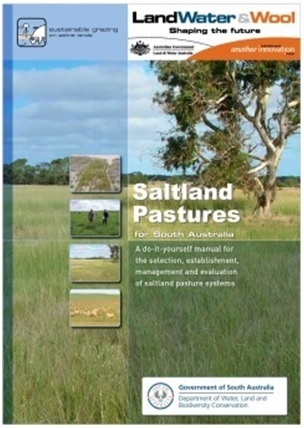 j. Saltland Pastures for South Australia front cover