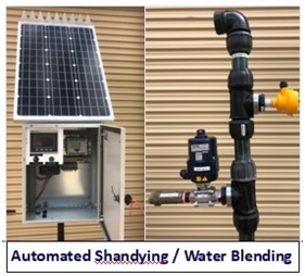 Automated Shandying Water Blending 8