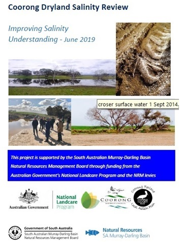 a. Coorong Dryland Salinity Review front cover