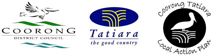 Logo bar - Coorong DC, Tatiara DC, CTLAP